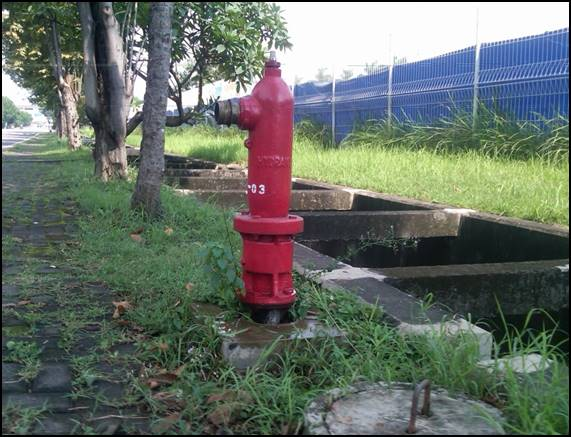 EJIP has installed pillar hydrant