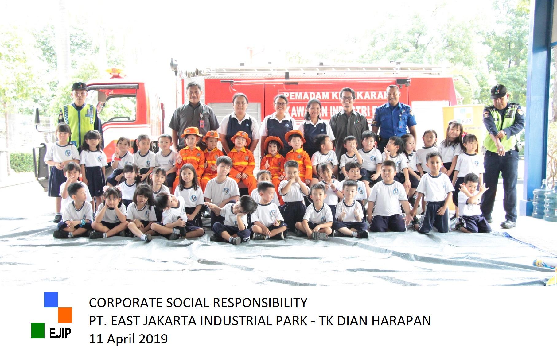 [CSR-Education] Dian Harapan Kindergarten Students Learn Fire Safety