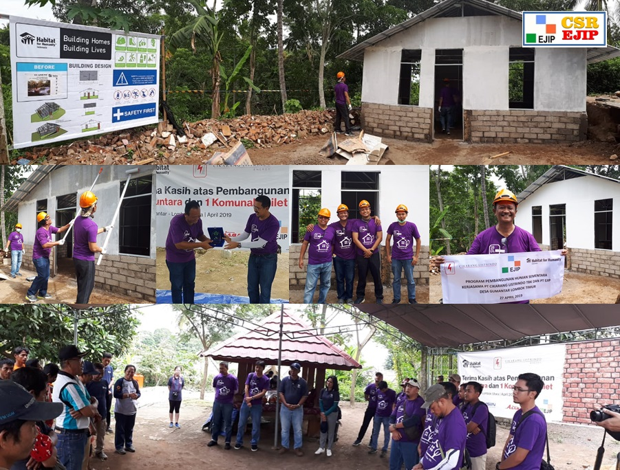 [CSR-Infrastructure] Lombok Earthquake Caring : Recontruction House at Gumantar's Village