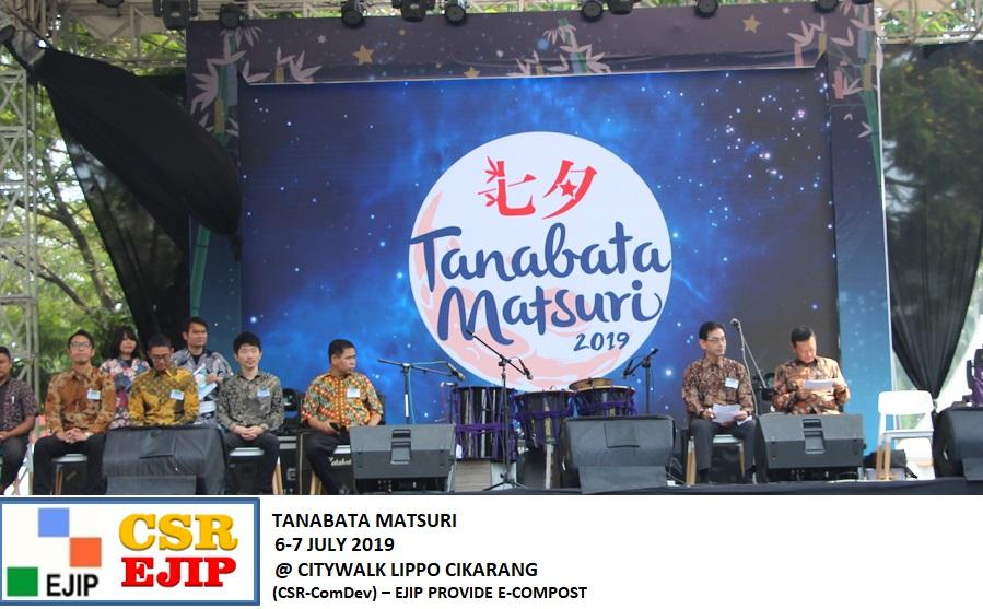 (CSR-ComDev) – EJIP PROVIDE E-COMPOST AT TANABATA MATSURI