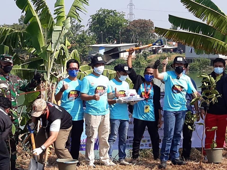 EJIP Supports World Cleanup Day 2021 at Bekasi