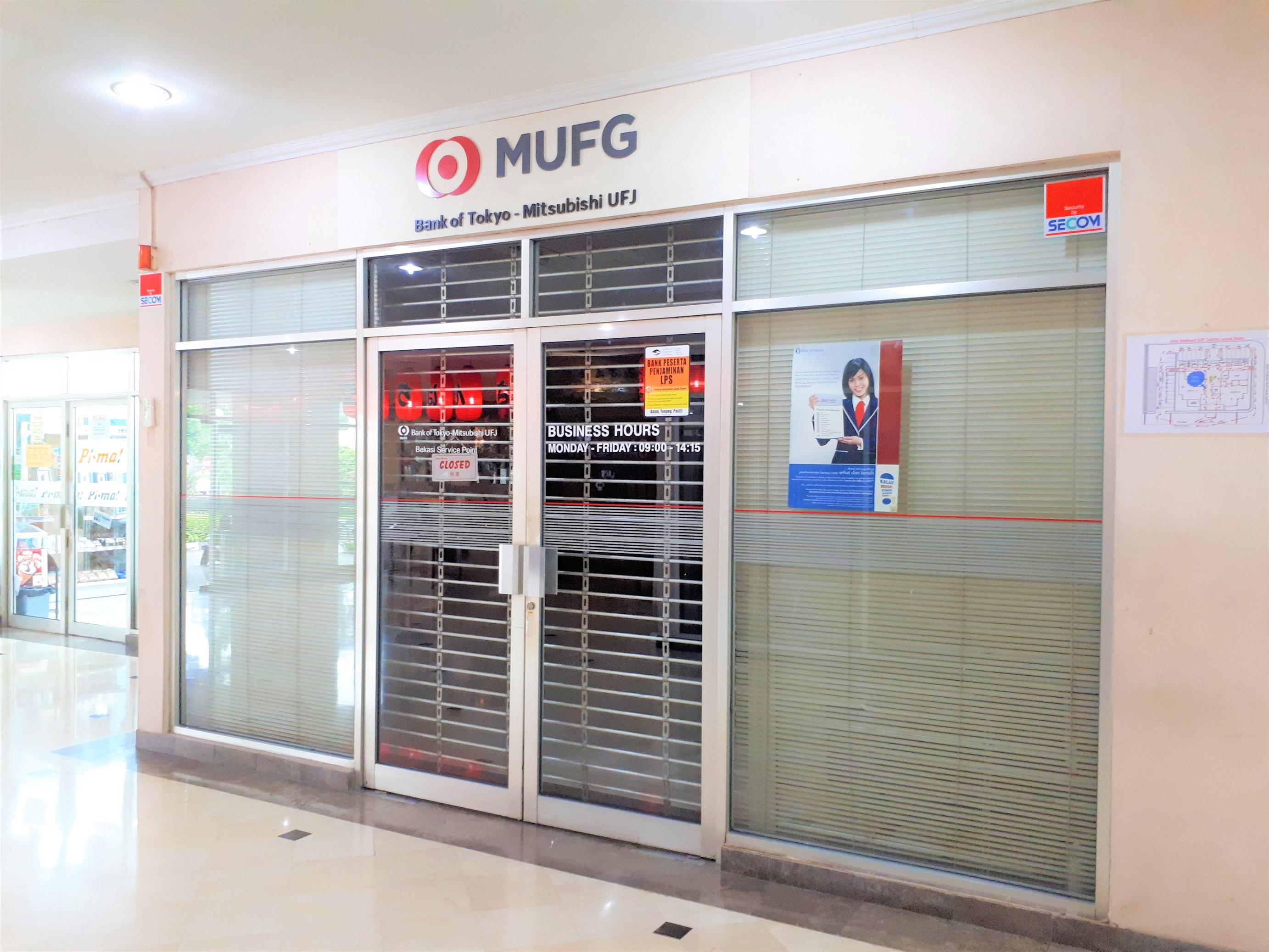 BANK OF TOKYO - MITSUBISHI UFJ